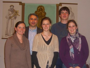 v.l.: Lisa Knopp, Anton Tulbure, Marcella Groeger, Johannes Hüttl, Veronika Burgmayr