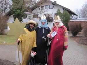 Die drei MAZler Severin Meding, Christian Poller und Claudia Nitsch