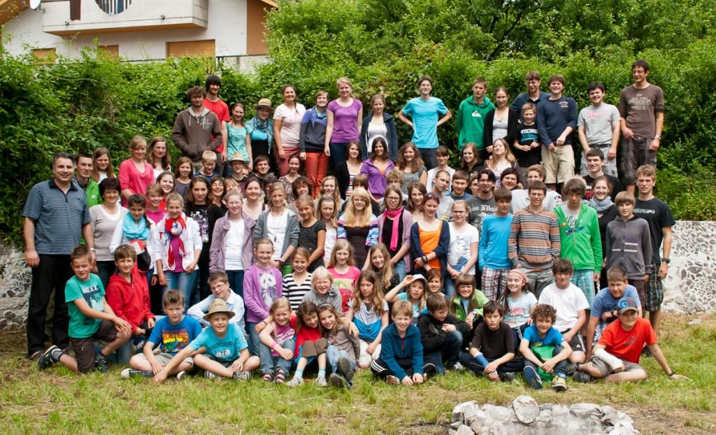 Gruppenfoto Arta Terme 2012
